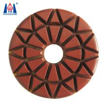 Huazuan Diamond Abrasive Tool Diamond Polishing Pad for Floor Polishing