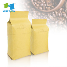 Grosir Aluminium Foil Coffee Packaging Bag dengan resleting