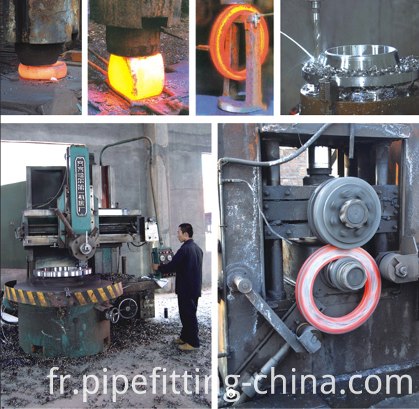 Flange production