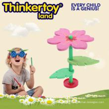 Цветочная игрушка здания для обучения и развития