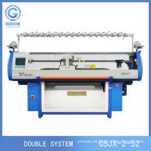 Nueva máquina de Jersey para tejer bufandas, máquina para hacer punto de manta, máquina para hacer punto plana