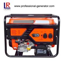 Gerador de gasolina de 6kw efetivo refrigerado a ar