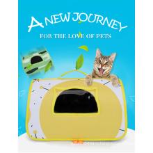 Оптовые роскошные складные дорожные сумки-переноски для собак