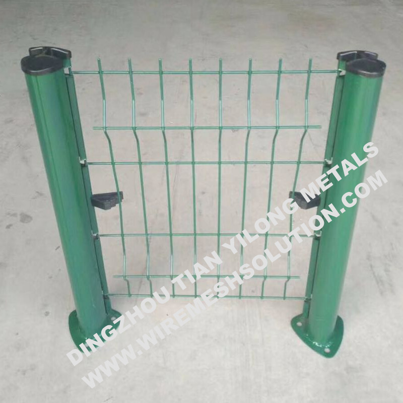 Peach Post for 2430mm Fence Panel