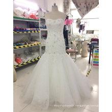 Aoliweiya Brand New Real Sample Bridal Wedding Dress Mermaid