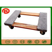 chariot mobile en bois décoratif / chariot, chariot mobile d'outil pour l'équipement électrique, meubles