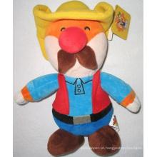 Cartoon Boy Stuffed brinquedo de pelúcia