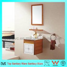 Gabinete de baño de la vanidad de aluminio simple del lavabo del estilo