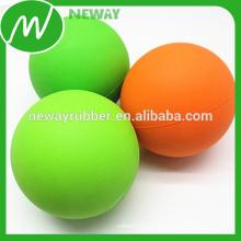 Desgaste resistente bola de goma de silicona con superficie lisa