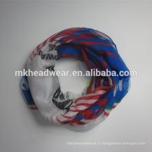 Coupe du monde de football écharpe polyester