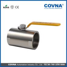 Filet femelle 1PC cf8m ball water hand valve