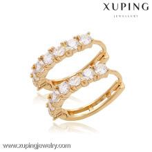 90058 Xuping мода высокого качества 18k позолоченный серьги