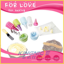 Pastry Bag Paper Cake Cup Knife Baking Tool Set