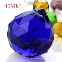 Bolas de cristal facetadas Bolas de vidro lustre pingente de cristal pingente de cortina