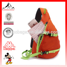 Saco de peito impermeável Casual Sling Bag Mochila Caminhadas Daypack