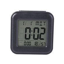 LCD Screen Table Alarm Clock with Blue Backlight