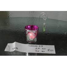 Стеклянная свеча Votive с рисунком Color Picture