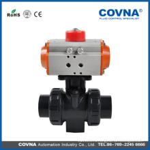 COVNA HK57 thread 2-way double union пневматический шаровой клапан для воды