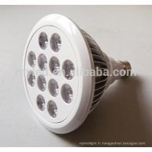 2700k-6500k CE et Rohs haute puissance haute luminosité réglable 13w imperméable PAR38 led par light