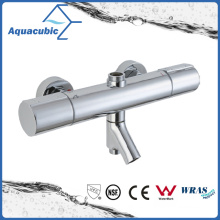 Round Bar Mixer Shower Set Thermostatic Valve with Spout for Bathtub (AF7365-7)