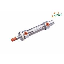 Cilindros de pistón neumático de la serie MA de tubo de acero inoxidable ESP