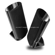 Compact et portable petit carnet haut-parleurs 2.1