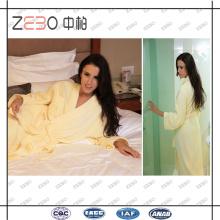 Super Soft Cut Velvet Fabric Solid Color Vente en gros Cotton Hotel Collection Peignoir