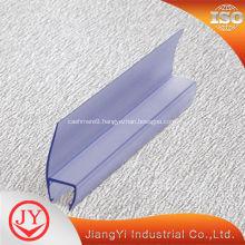 Waterproof glass edge PVC guard trim seal strip