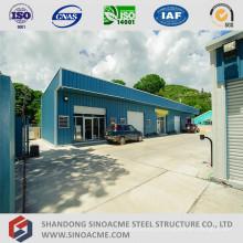 Prédio de escritórios leve pré-fabricado da construção de aço