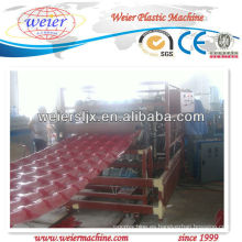 Línea de extrusión de techo de placa de PVC / Maquinaria de plástico