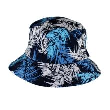 venta caliente sublimación impresión sombrero de la pesca floral casquillo del cubo