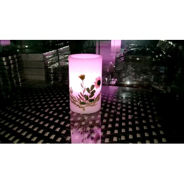 Flameless Moving Wick Led Candle Natal