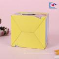 boîtes de papier d'emballage de nouilles chinoises personnalisées avec fenêtre