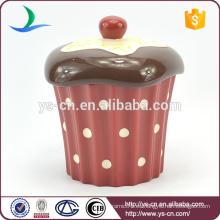 Pastel de cerámica de diseño para pasteles