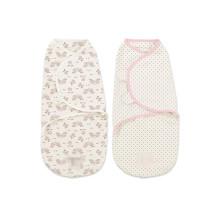 cobertor swaddle bebê conveniente infantil musselina swaddle ajustável