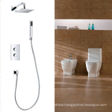 TMV2 shower mixer & vernet thermostatic diverter valve