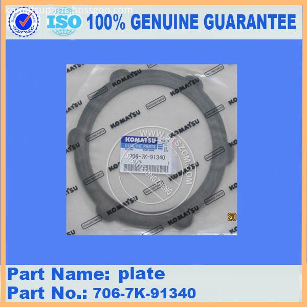 Pc300 7 Plate 706 7k 91340