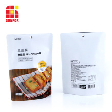 Doypack Stand Up Pouch For Snacks Packaging