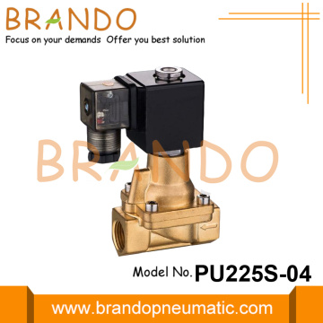 3/8 '' 1/2 '' Valen Solenoid Brass Steam PU225S-03 PU225S-04