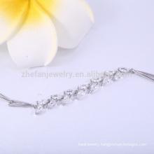 Zirconia jewelry china guangzhou bracelets & bangles copper bracelet