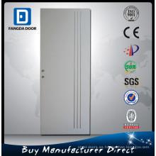 Fangda venta caliente inyección de poliuretano hueco núcleo de metal puerta