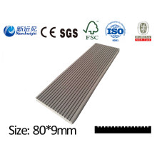 WPC Plank WPC Wall Panel with SGS CE Fsc ISO Wood Plastic Composite Waterproof Plank Decoration Board for Dustbin Fence Bench Decking Lhma136