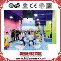 Ice Snow Theme Riesige Freizeitzentrum Indoor-Spielplatz