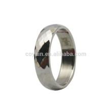 Anel barato da grade do aço inoxidável da prata