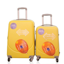 Valise rigide de voyage de chariot de voyage de valise d'ABS Spinner