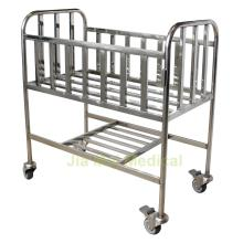 Hospital Baby Cot With Four Wheels