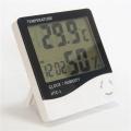 Hygromètre de thermomètre numérique avec réveil