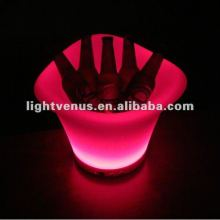 Factory direct sale rechargeable color changing ice bucket table