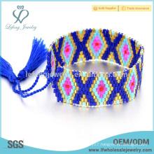 New arrival Bohemian seed beads bracelets designs,beaded bangles handmade jewelry