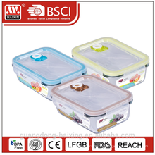 Vakuum Microwavable frische Erhaltung Essen Glasbehälter C